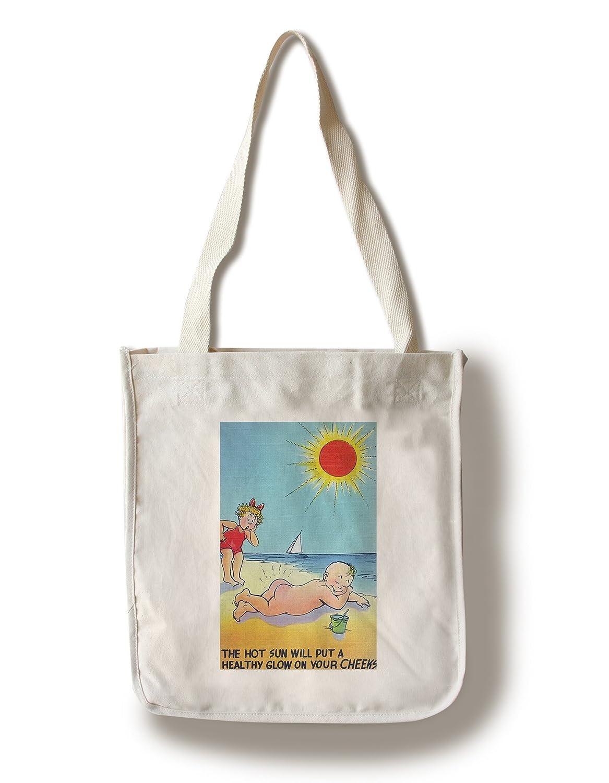 激安な Comic Cartoon – BoyヌードSunbathing ホットSun Putting Healthy Healthy Glow On頬; Cartoon BoyヌードSunbathing Canvas Tote Bag LANT-32577-TT B01841IHF6 Canvas Tote Bag, 木古内町:09b9ed00 --- arianechie.dominiotemporario.com