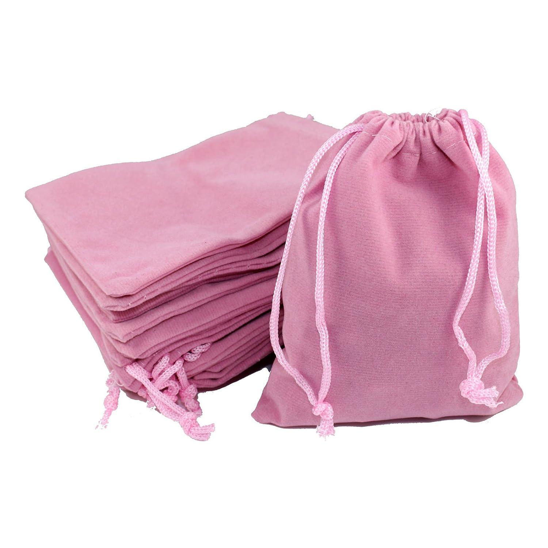 9x12 cm 9 x 12 cm en tissu opaque kleenes traumhandel lot /® dimensions :  env Sachet de 50 rose