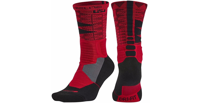 new styles 3ccd7 17bad Amazon.com  Nike Hyper Elite Lebron Basketball Socks  Shoes