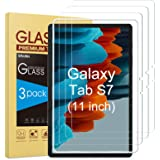 SPARIN 3 Pack Tempered Glass Screen Protector Compatible with Samsung Galaxy Tab S7 11 inch