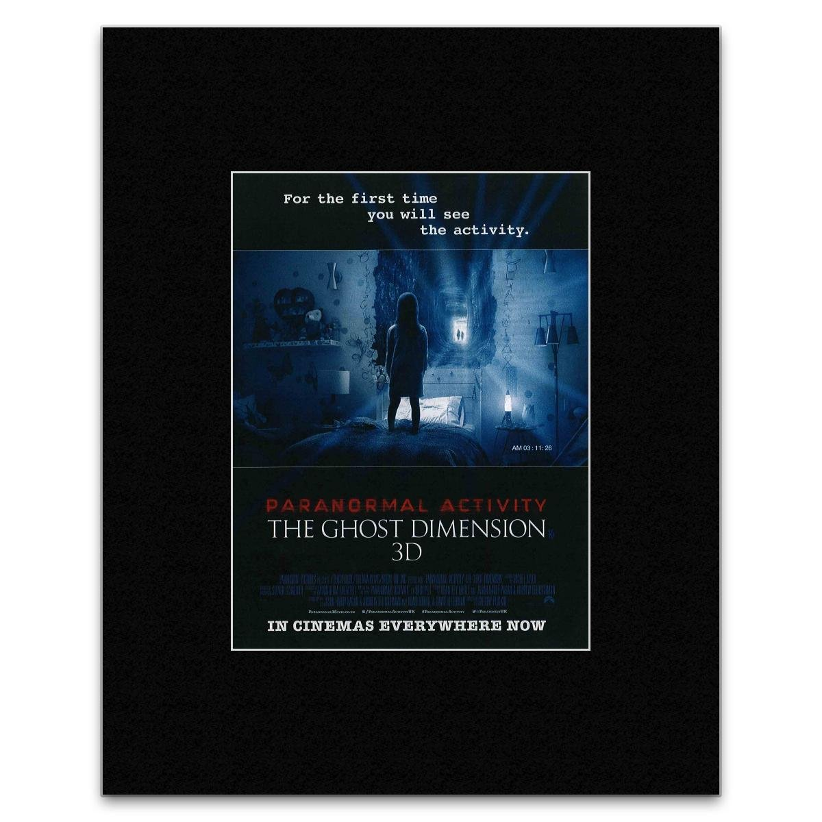 NME PARANORMAL ACTIVITY - The Ghost Dimension Mini Poster - 28x21cm