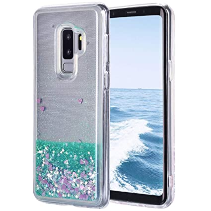 Funda Líquido Galaxy S9 Plus, Arena Movediza Brillo Carcasa ...