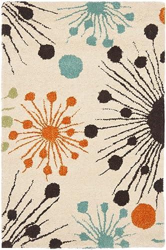 Safavieh Soho Ivory Multi Fireworks Rug Rug Size 7 6 x 9 6