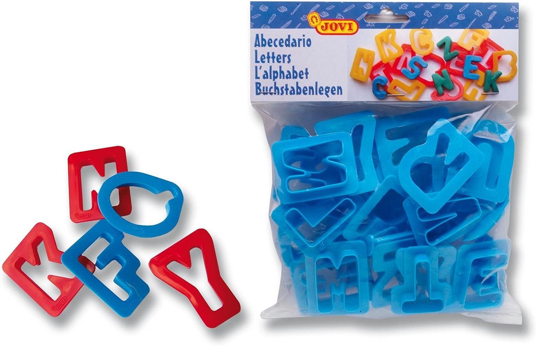 Jovi - Bolsa, 26 moldes, abecedario (7A) , color/modelo surtido