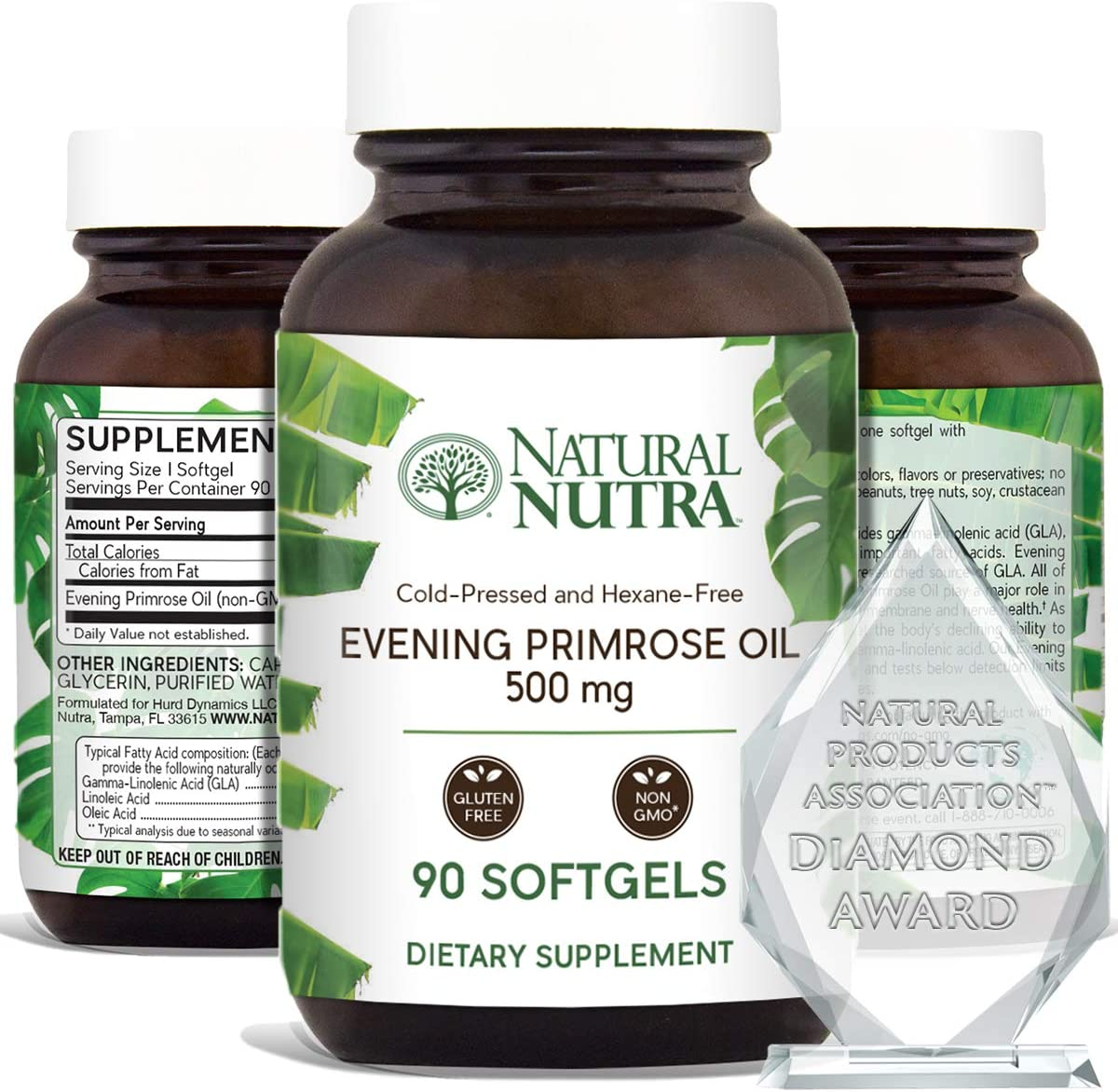 Natural Nutra Evening Primrose Oil Supplement from Fatty Acid