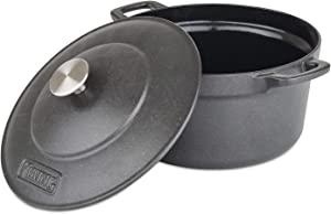 Viking Enamel Cast Iron Dutch Oven, 5 Quart