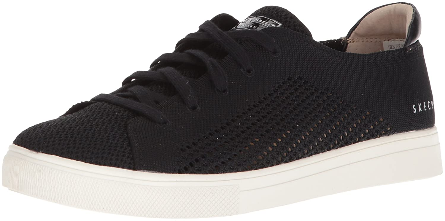 Skechers Women's Moda-Great Knit Sneaker B07864WSV3 7.5 B(M) US|Black