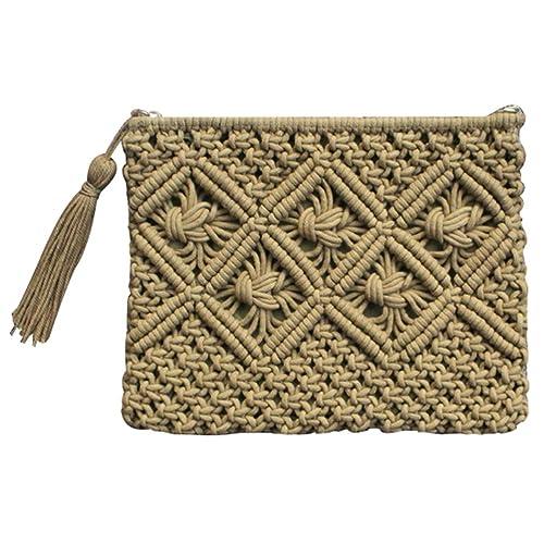 Amazon.com: donalworld donalworld niña Crochet Embrague ...
