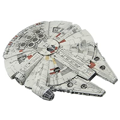 Bandai Vehicle Model 006 Star Wars Millennium Falcon Plastic Model Kit -Story of Roue one-: Toys & Games