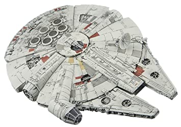 Vehicle Model 006 Star Wars Maqueta Pequeña Halcon Milenario (Millennium Falcon Plastic Model)