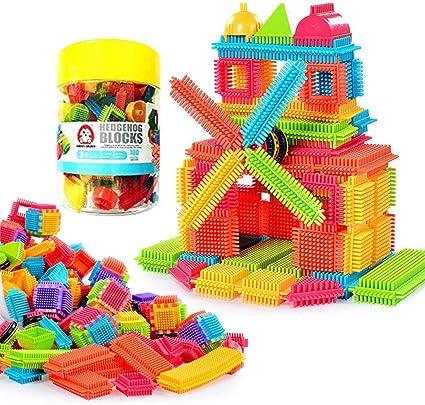 600 PCS ASSORTED KIDS CREATIVE TOYS FAMILY BUILDING CONSTRUCTION BRICKS BLOCK