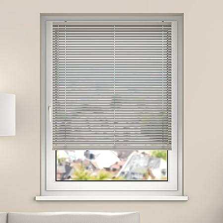 DESWIN Venetian Blinds - Aluminium Blind - 110 x 120 cm (W x L)