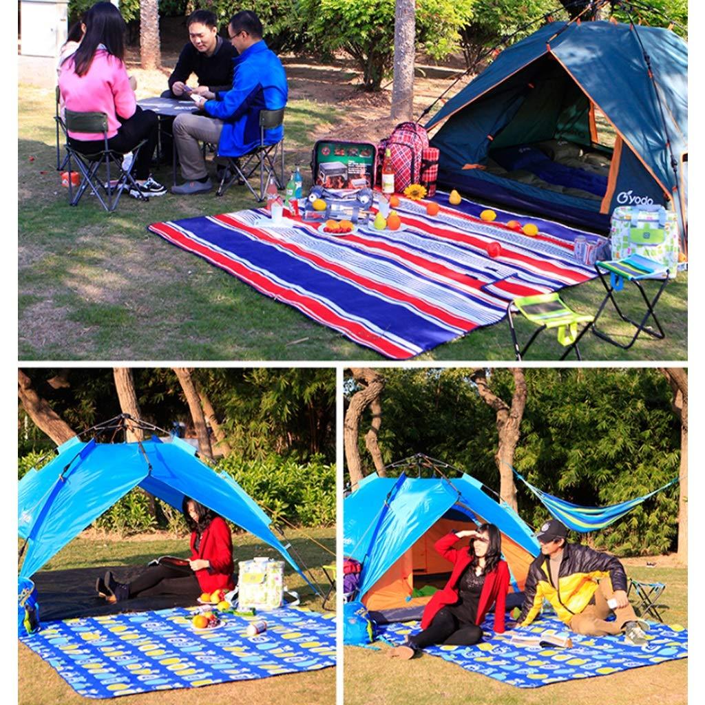QQ888 QQ888 QQ888 Familien-Picknick-Decke mit Tragetasche Extra Large Faltbare und Wasserdichte Isomatte für Outdoor-Strand, der Grasreise wandert (Farbe   C, größe   200x200cm) B07PKH5BS8   Exquisite (mittlere) Verarbeitung  b03f11
