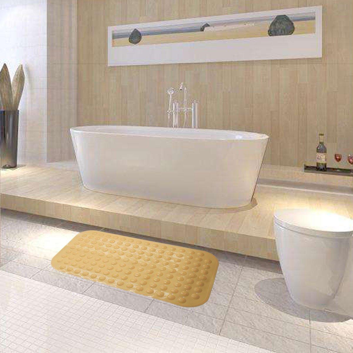 Home & Garden Extra Long Bath Tub Mat Vinyl Anti Slip Non Slide Safety Skid Shower Protection Cheap Sales 50% Non-slip Appliques & Mats