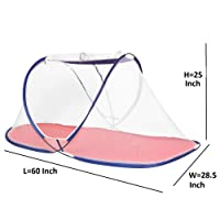 AmazingHind Foldable Kids Mosquito Net with Base Cloth - Mosquito Repellent (Suitable for: 3 to 6 Years)