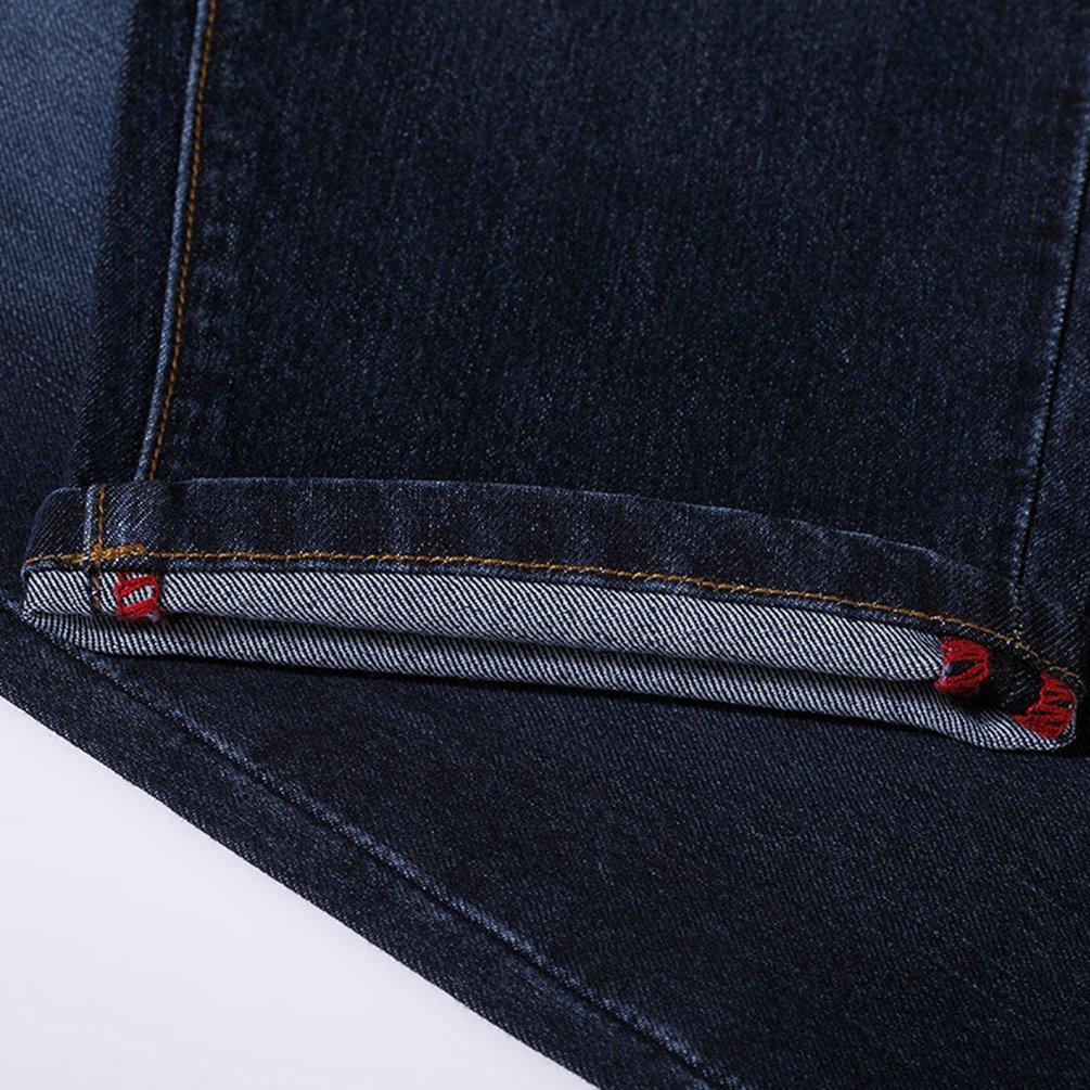 YuanDian Femme /Ét/é Casual 3//4 Longueur Plus Size Jeans Slim Fit Skinny Stretch Denim Pantacourt Push Up Capri Jeans
