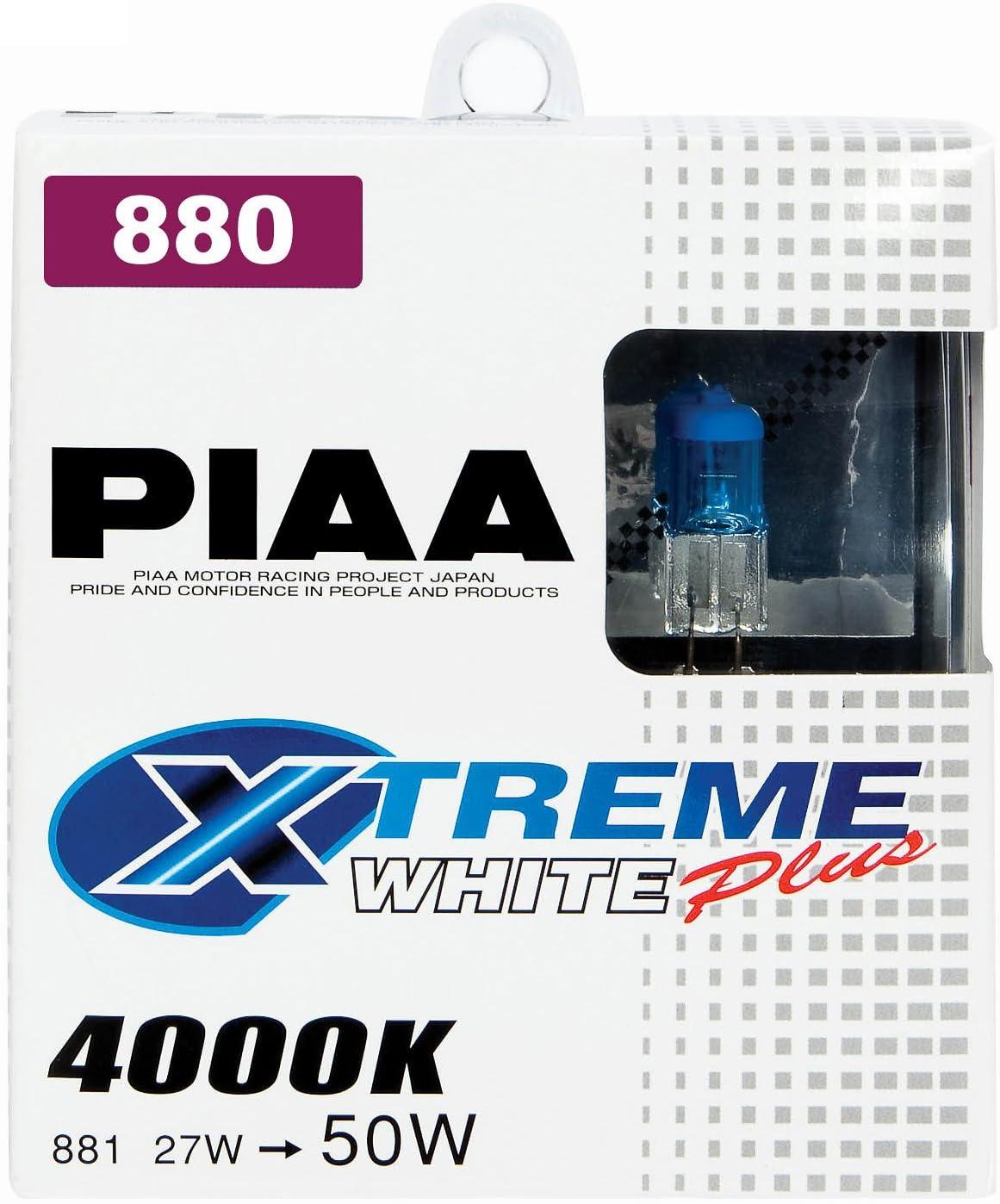 PIAA 19172 168 Xtreme White Wedge Bulb Xtreme White Wedge Bulb, Pack of 2
