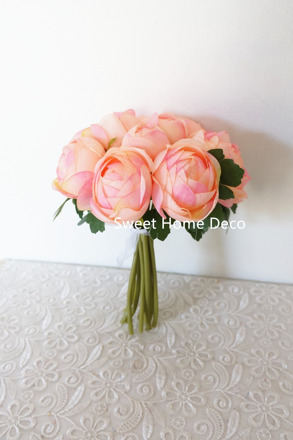 Sweet-Home-Deco-9-Soft-Silk-Ranunculus-Flower-Bouquet-10-Stems10-Flower-Heads-for-WeddingHome-Decorations
