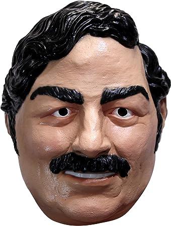 Ghoulish Productions Pablo Escobar Mask Standard: Amazon.es: Juguetes y juegos