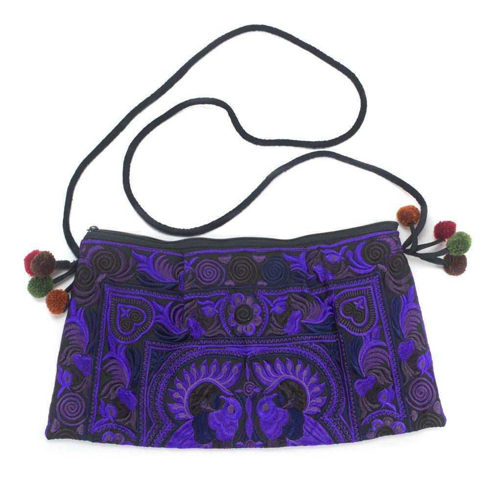 1d7660c783f8 Lanna Lanna Hmong Bag - Hill Tribe Boho Swingpack Clutch Purse ...