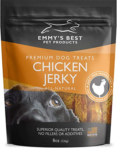 Emmy's Best #1 Premium Chicken Jerky Dog Treats Made in USA Only All Natural
