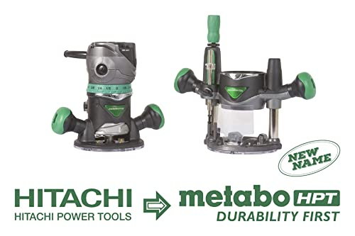 Metabo HPT Router Kit, Fixed Plunge Base, Variable Speed, 11 Amp Motor, 2-1 4 Peak HP KM12VC