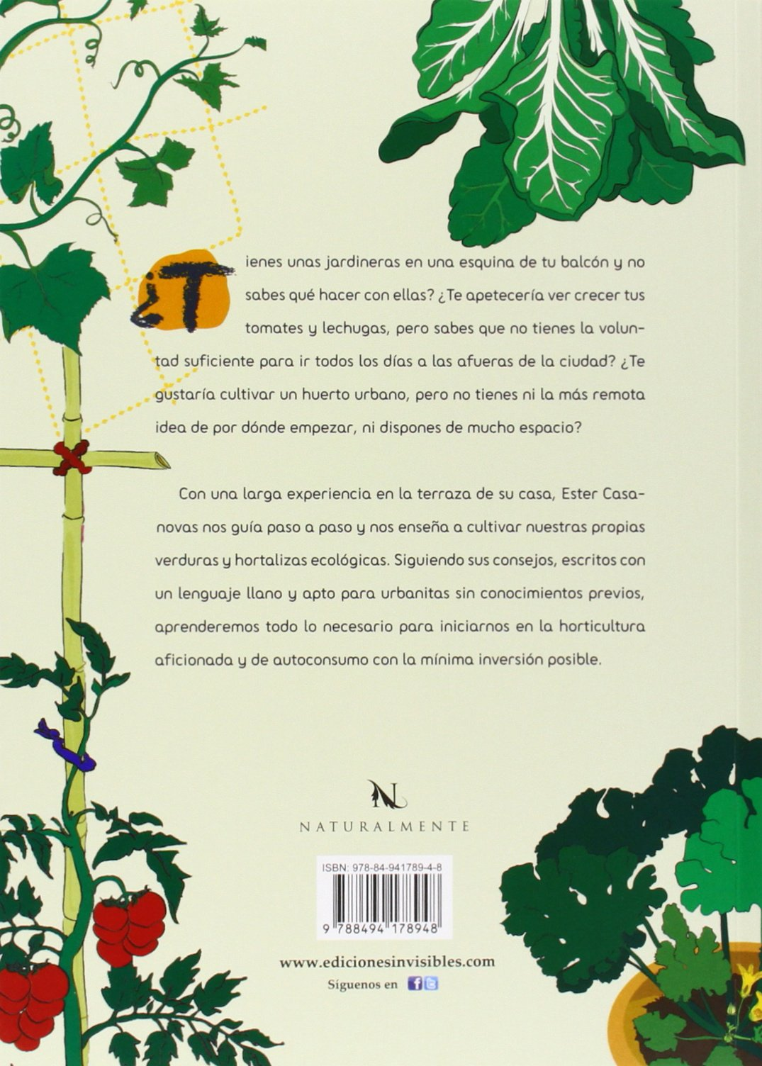 Hortelanos De Ciudad: Manual ilustrado para cultivar un huerto en ...
