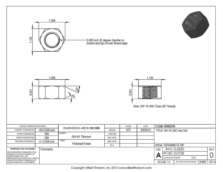Hex Socket Drive Pack of 100 Alloy Steel Set Screw Plain Finish Meets ASME B18.3//ASTM F912 Flat Point #10-24 Threads 1//2 Length