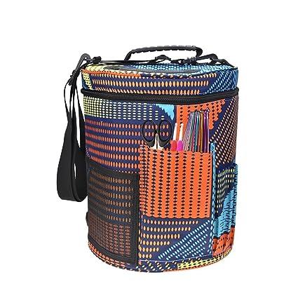 Bolsa de almacenamiento de hilo de lana, bolsa de almacenamiento para tejer, bolsa de