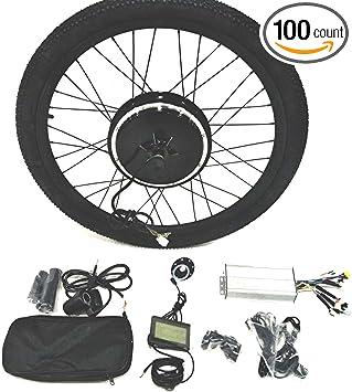 Tire Theebikemotor 48V1000W Hub Motor EBike Bicicleta EL/ÉCTRICA KIT DE CONVERSI/ÓN 4.0 Fat Rim LCD