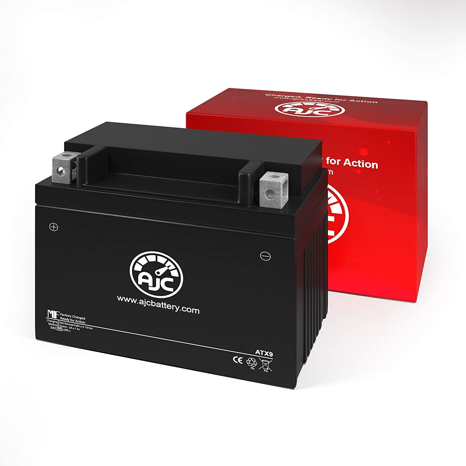 Adventure Power UTX9 Powersports Replacement Battery This is an AJC Brand Replacement
