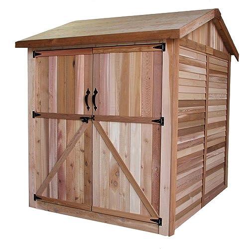 6x6 plastic shed