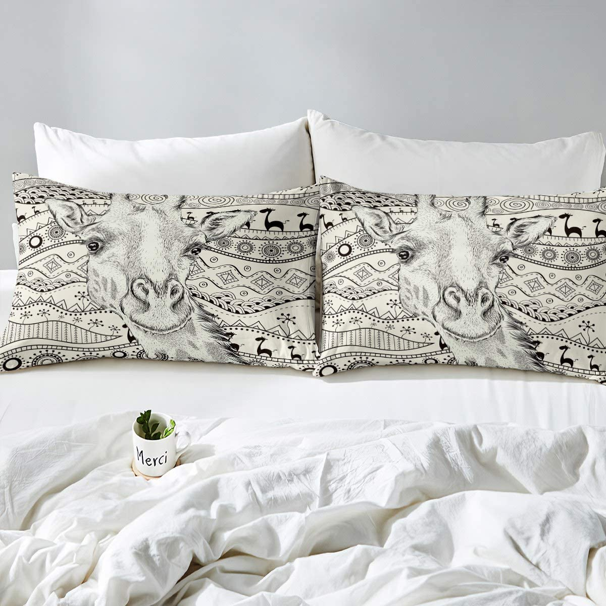 Dreamcatcher Duvet Cover Boho Dream Catcher Bedding Set Bohemian Moon Comforter Cover for Girls Women Indian Hippie Feather Decor Bedspread Cover Full Size with 2 Pillow Case