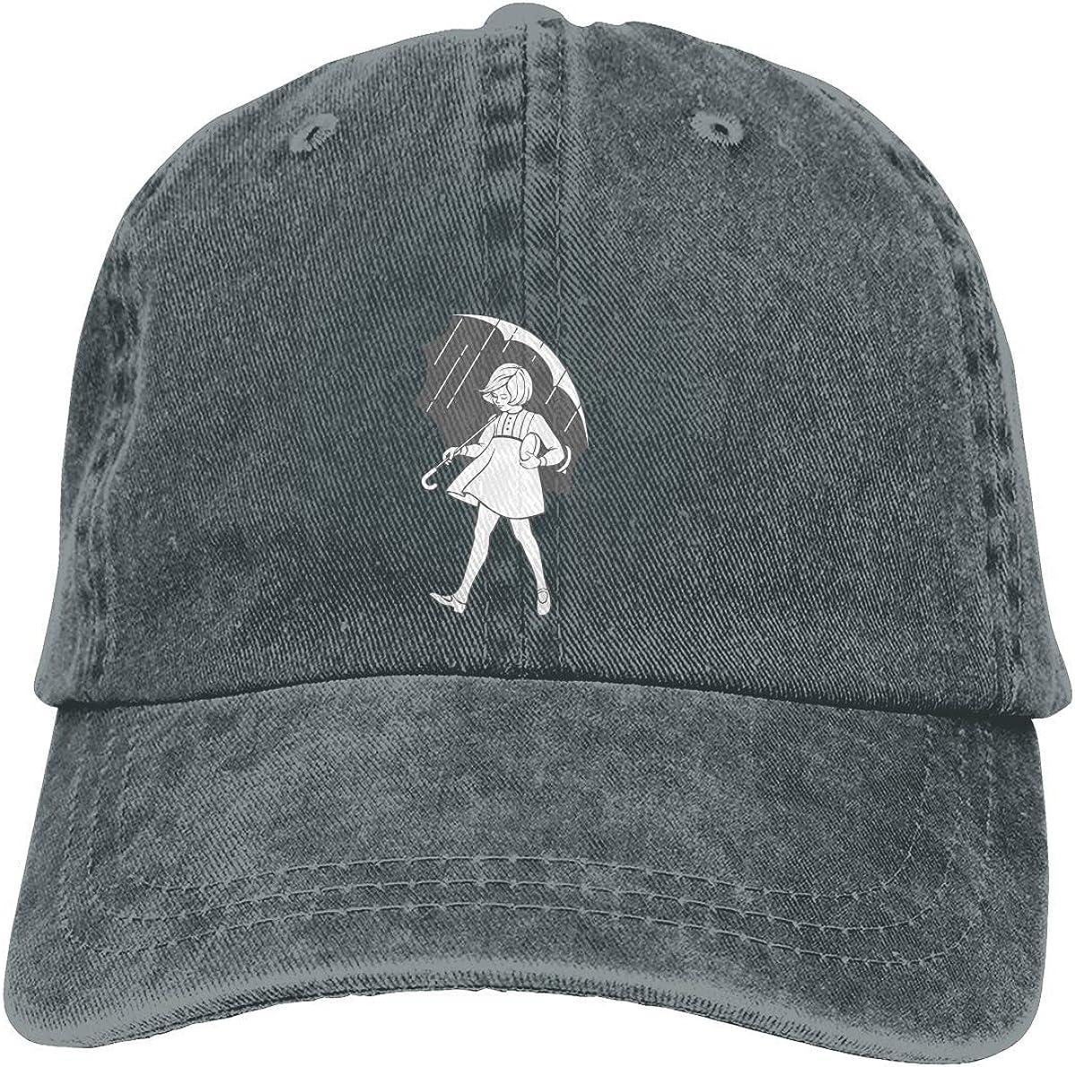RFTGB Gorras Unisex Accesorios Sombreros Gorras de béisbol Sombreros de Vaquero Don't Be A Salty Bitch Denim Baseball Cap, Unisex Vintage Dad Hat, Golf Hats, Adjustable Plain Cap