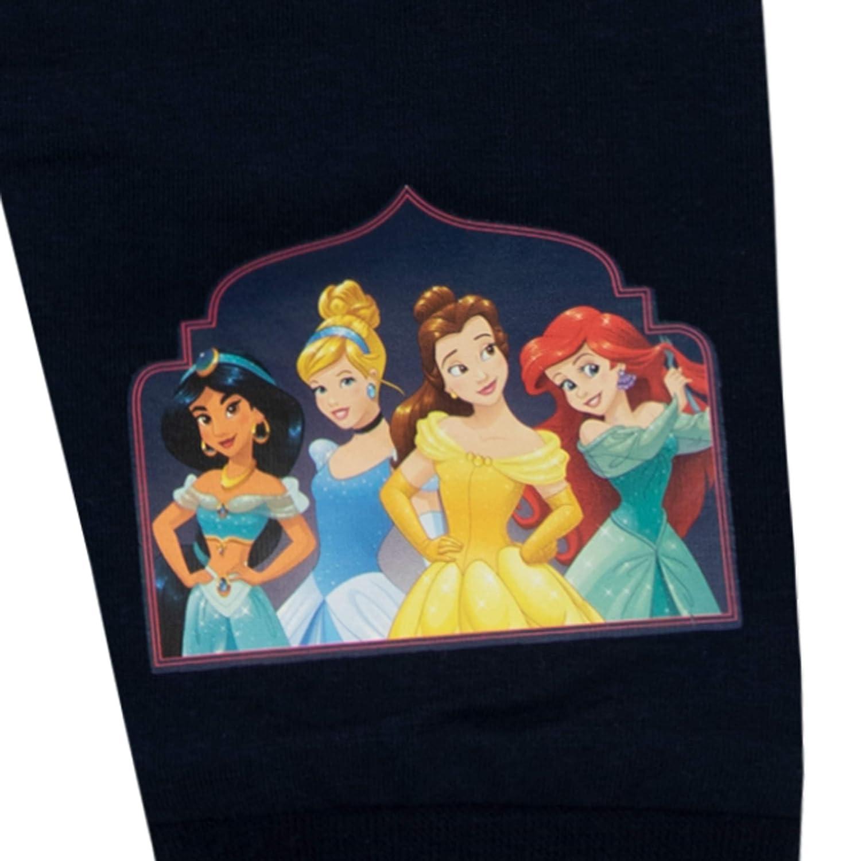 Disney Pigiama a Maniche Lunghe per Ragazze Principesse Vestibilitta Stretta