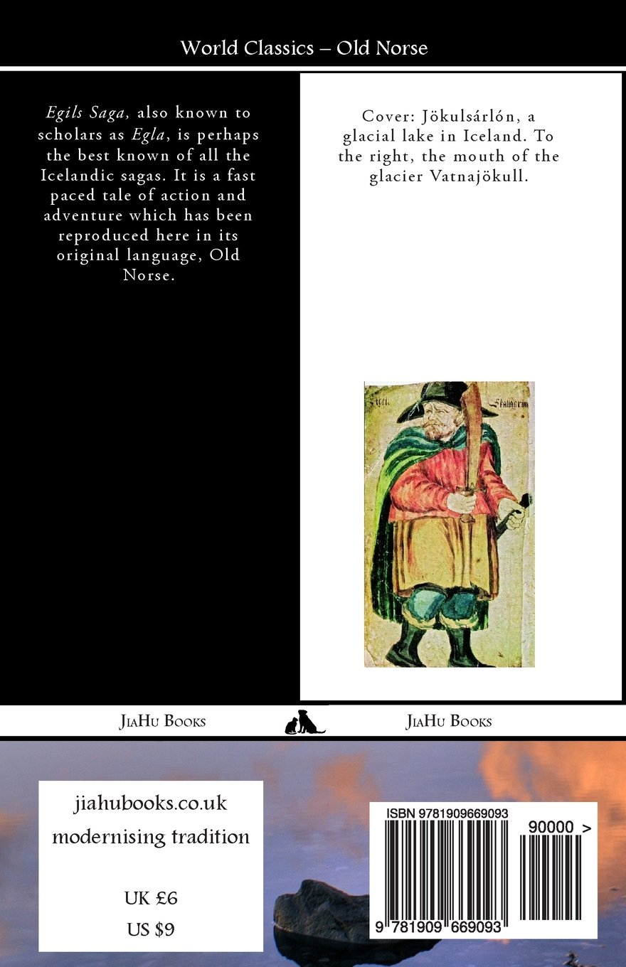 Egils Saga (Old Norse) (Icelandic Edition) by JiaHu Books