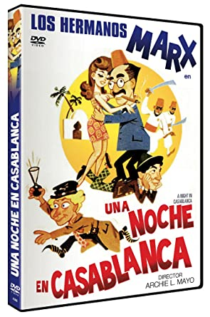 Una Noche en Casablanca DVD 1946 A Night in Casablanca: Amazon.es ...