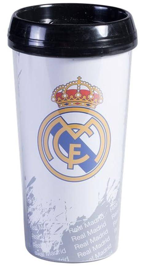 Amazon.com: Taza de viaje Real Madrid FC producto oficial ...