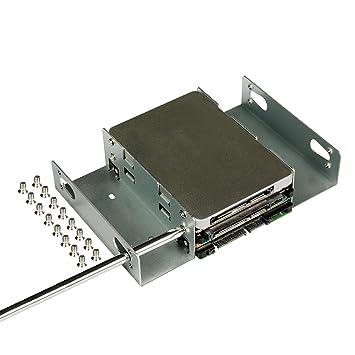 Amazon.com: Soporte de montaje de disco duro SSD HDD de ...