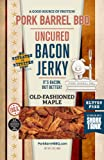 Pork Barrel BBQ Old-Fashioned Maple Uncured Bacon Jerky