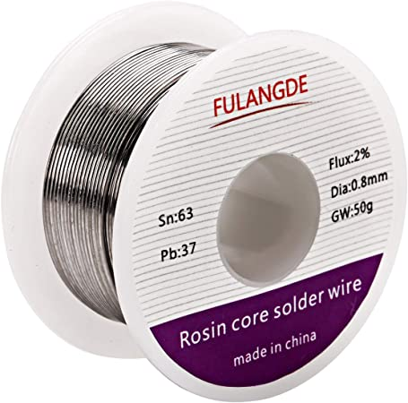 """60//40 Rosin Core Solder High Quality .08mm//.032/"""" Thick"""