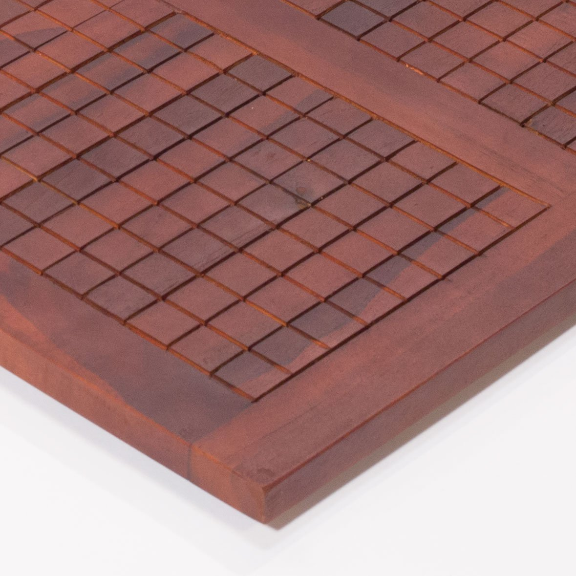 40'' X 20'' Non Slip Teak Shower Floor Bath Bathroom Mat by Decoteak (Image #5)