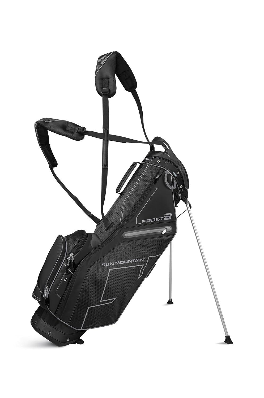 Sun MountainゴルフFront 9コンパクトスタンドCarryバッグ B011EG58C8 ブラック ブラック
