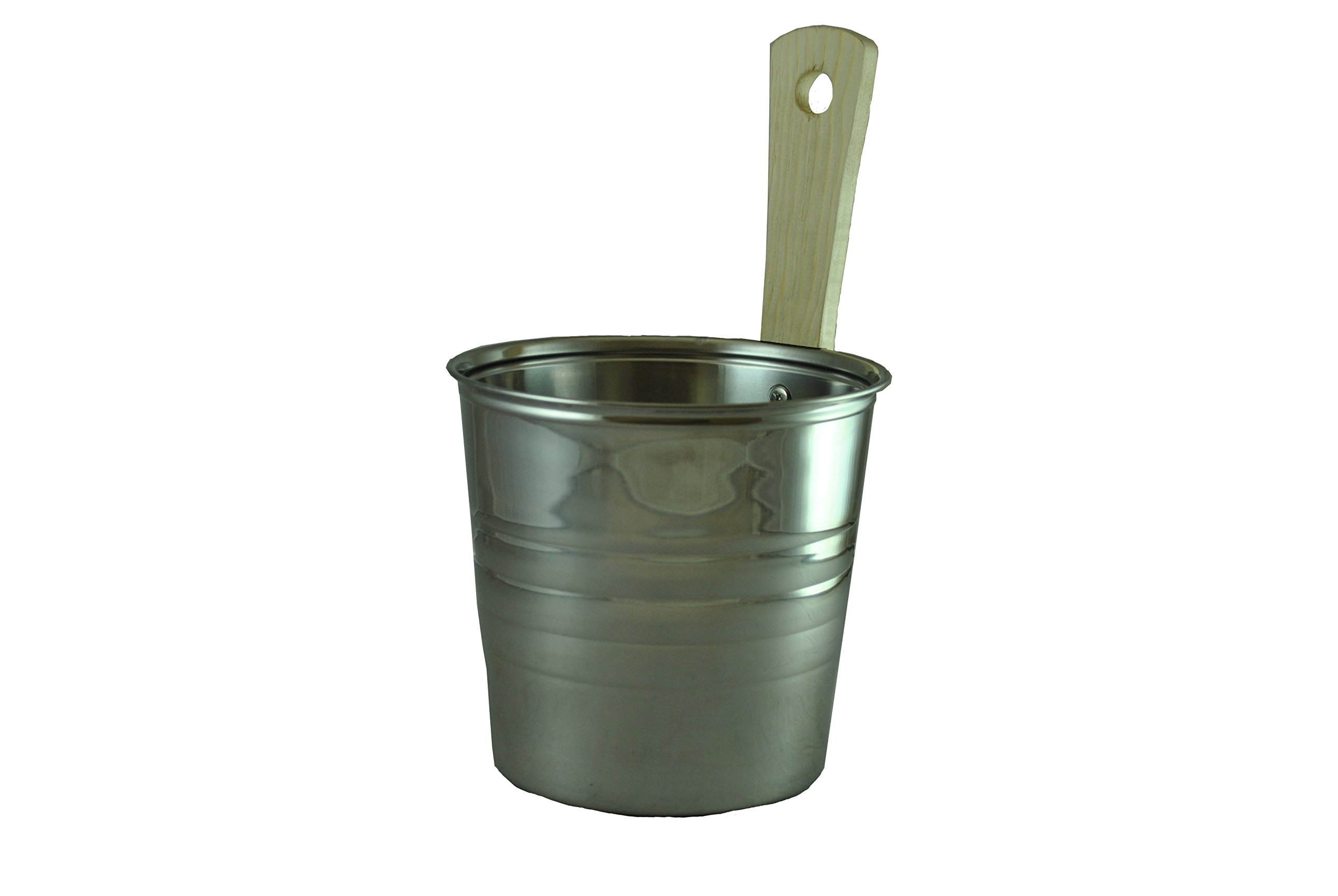 Northern Lights Group Steel Sauna Bucket - 3.5 Liters by Northern Lights Group