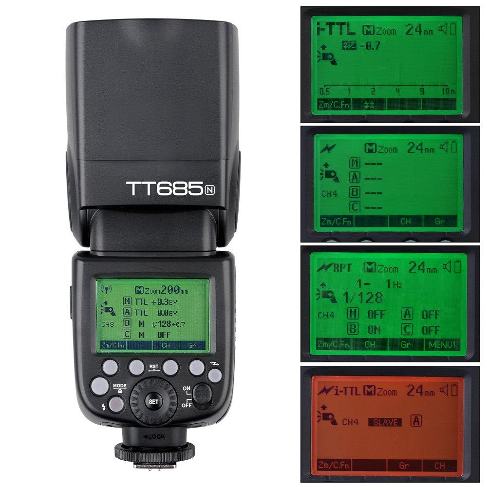 Godox TT685N i-TTL 2.4G Wireless Radio System Master Slave
