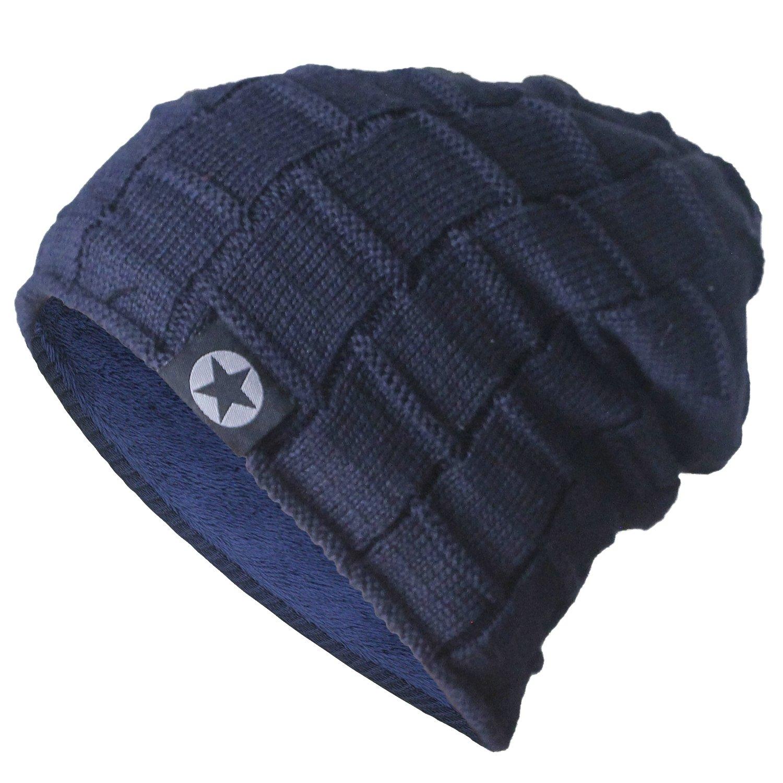 最新情報 bodvera冬ニットウール暖かい帽子厚手ソフトストレッチSlouchyビーニーSkullyキャップ ネイビー B01MRH8QFI B01MRH8QFI ネイビー Size One Size One Size|ネイビー, カワチグン:3336bc3b --- obara-daijiro.com