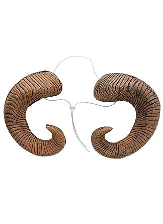 Amazon Com Elope Ram Horns Costume Accessory Adjustable Headband