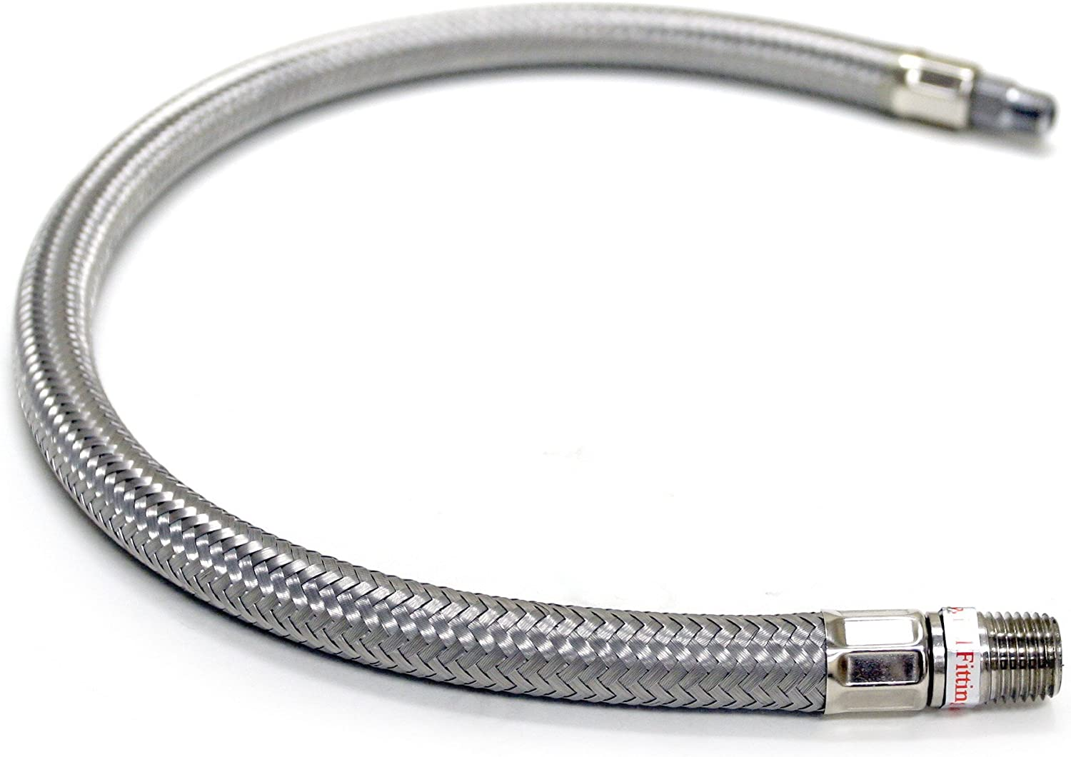 VIAIR 92804 18 Stainless Steel Braided Leader Hose without Check Valve