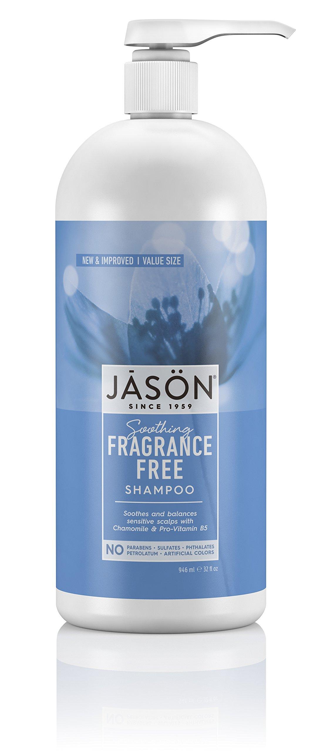 Jason Fragrance Free Shampoo, 32 Fluid Ounce by JASON