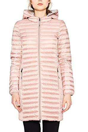 ESPRIT Damen Mantel 077EE1G010, Rosa (Old Pink 680), X-Small 581e83161e